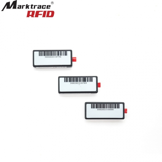 Mini Sticker 2 4GHz Active RFID Tags For Fixed Assets